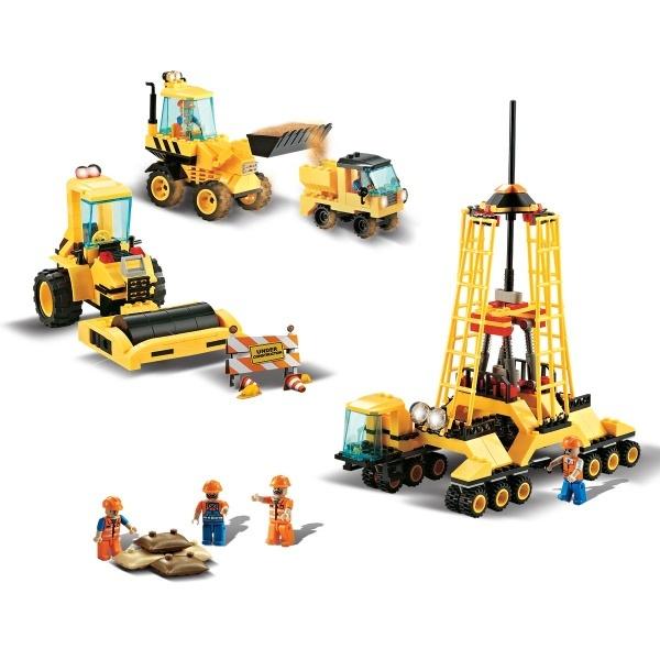 Yapım Seti: İnşaat Araçları J5762A