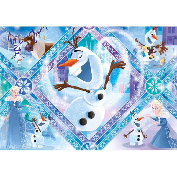 60 Parça Puzzle : Frozen Olaf Adventure