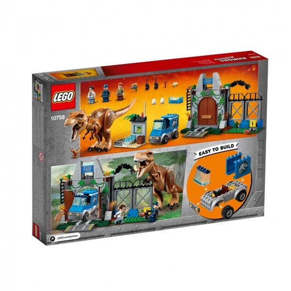 LEGO Juniors T. rex Kaçışı 10758