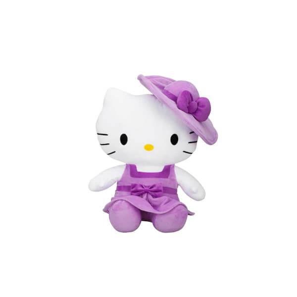 Hello Kitty Şapkalı Peluş 36 cm.