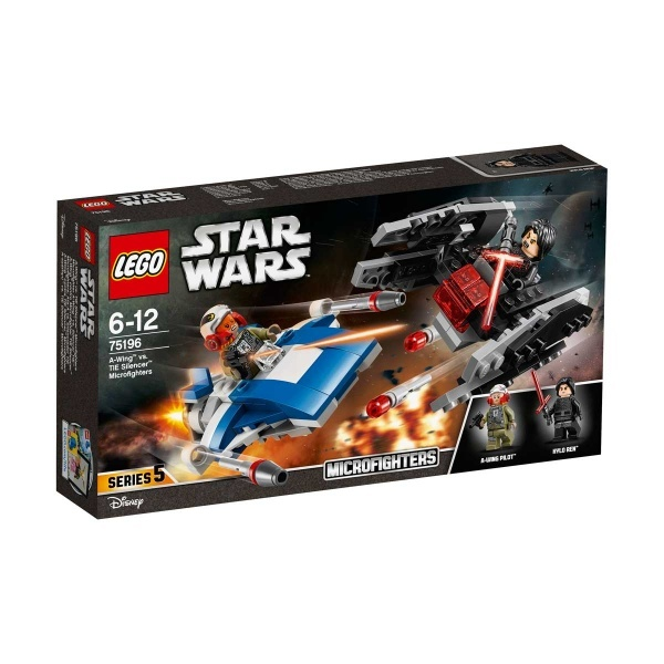 LEGO Star Wars A-Wing'e Karşı Tie Silencer Mikro Savaşçılar 75196