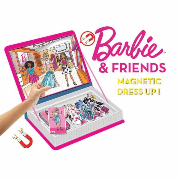 Barbie Fashionistas Manyetik Kıyafet Giydirme Oyunu