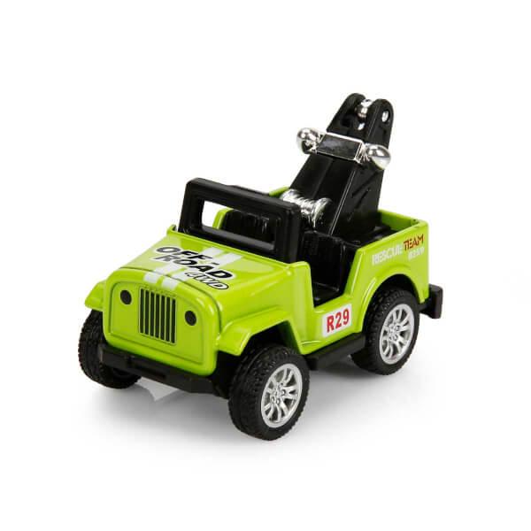 1:64 Mini Jeep 5 cm.