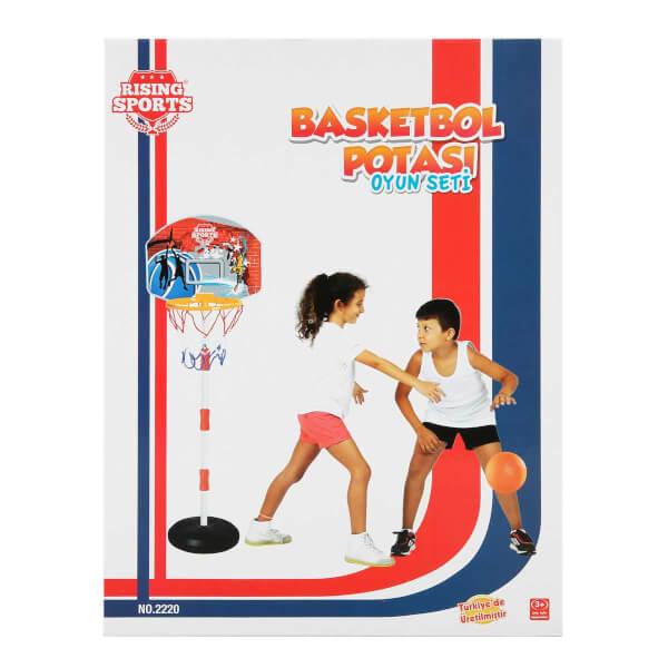 Ayarlanabilir Basketbol Potası 84-138 cm.