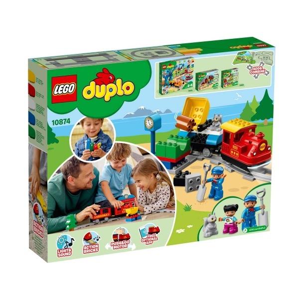 LEGO DUPLO Town Buharlı Tren 10874