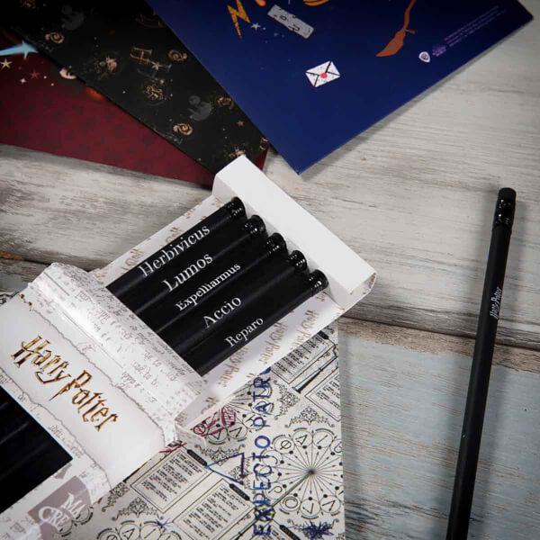 Harry Potter Silgili Kurşun Kalem Seti 5'li