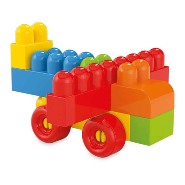 Akıllı Çocuk Renkli Bloklar 100 Parça