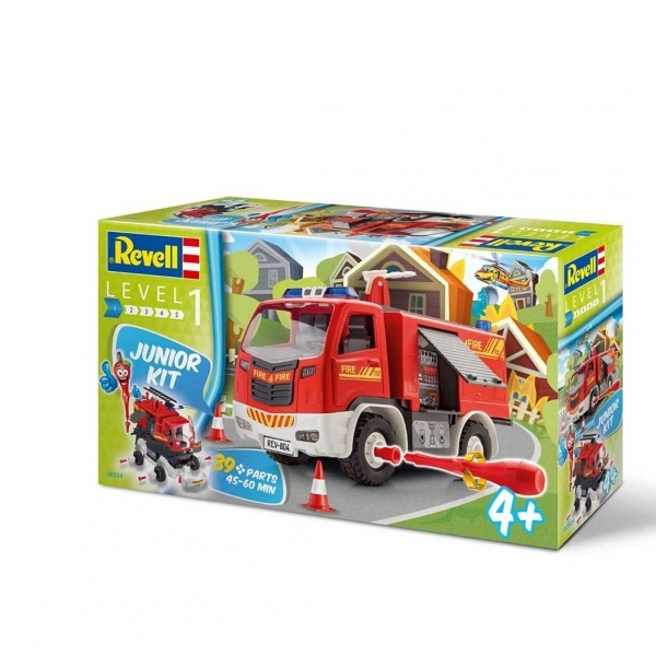 Revell 1:20 JR.Kit Fire Truck