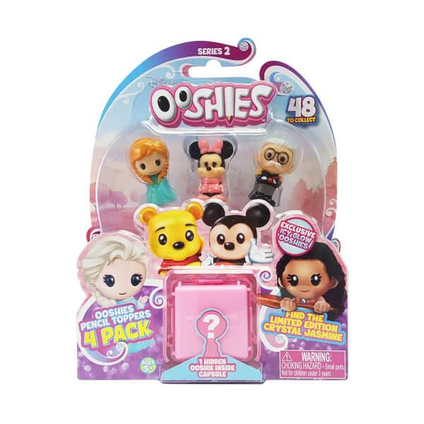 Ooshies Disney Mini Figür 4'lü Paket