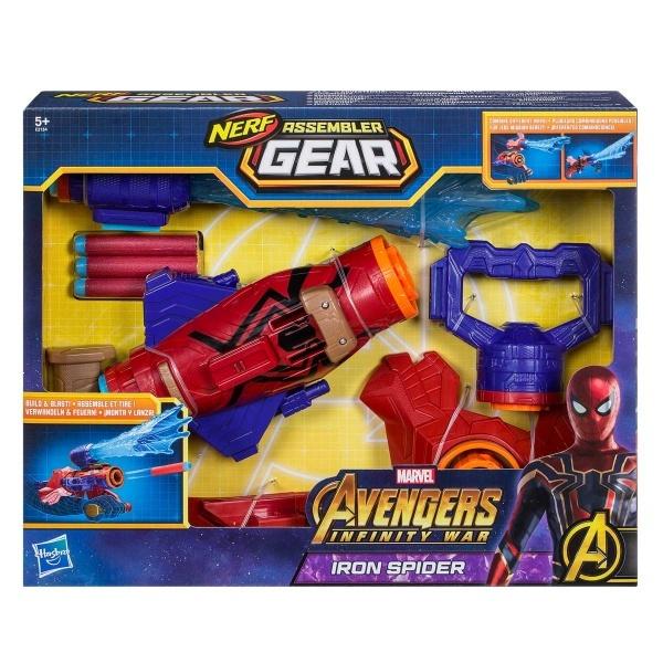 Avengers Assembler Gear Spiderman Fırlatıcı