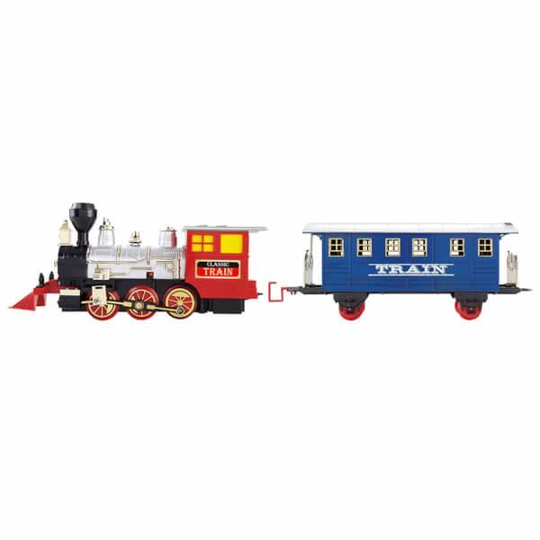 Sesli ve Işıklı Klasik Tren Seti 16 Parça