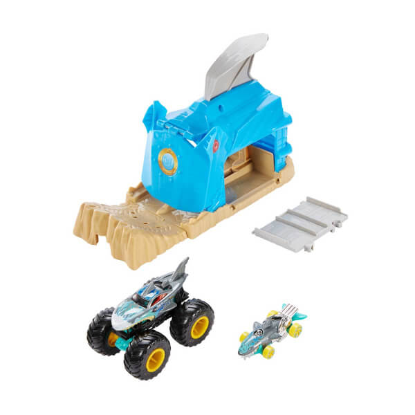 Hot Wheels Monster Trucks Fırlatıcılı Oyun Seti GKY01