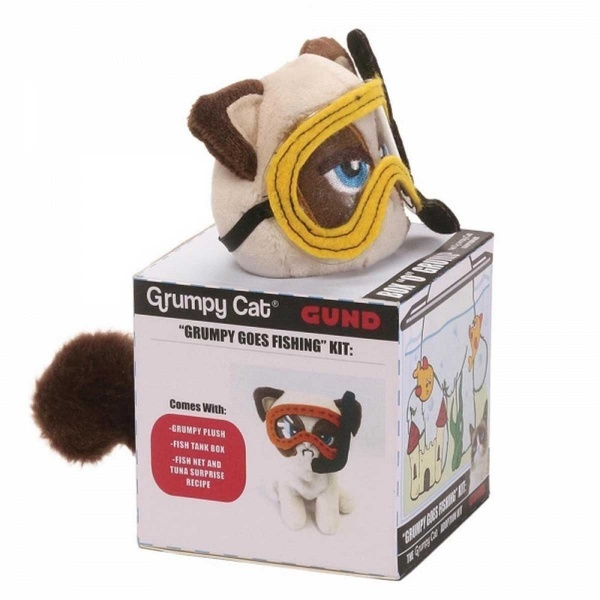 Grump Grumpy Goes Fishing Peluş
