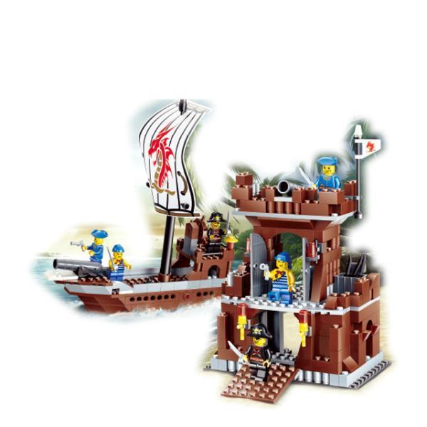 Korsan Yapı Seti : Gemi - Kale