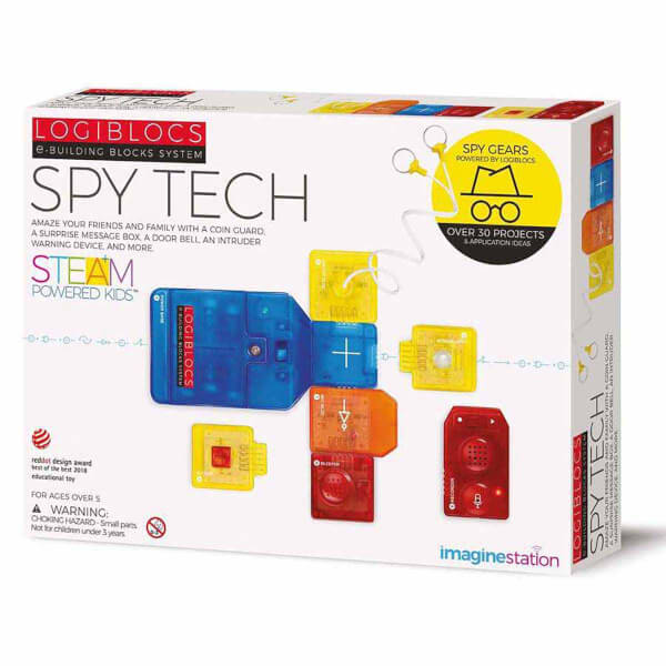 Logiblocs Spy Tech Akıllı Elektronik Oyun Devresi