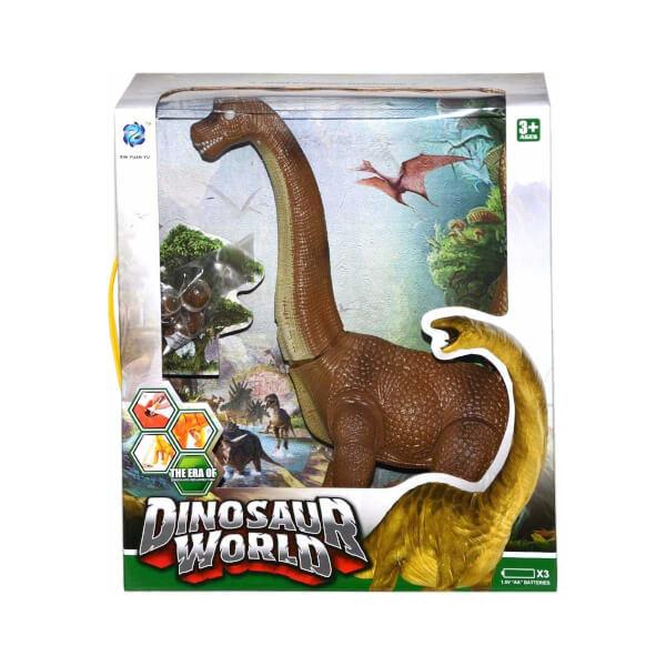 Brachiosaurus T-Rex Sesli Ve Işıklı Dinozor