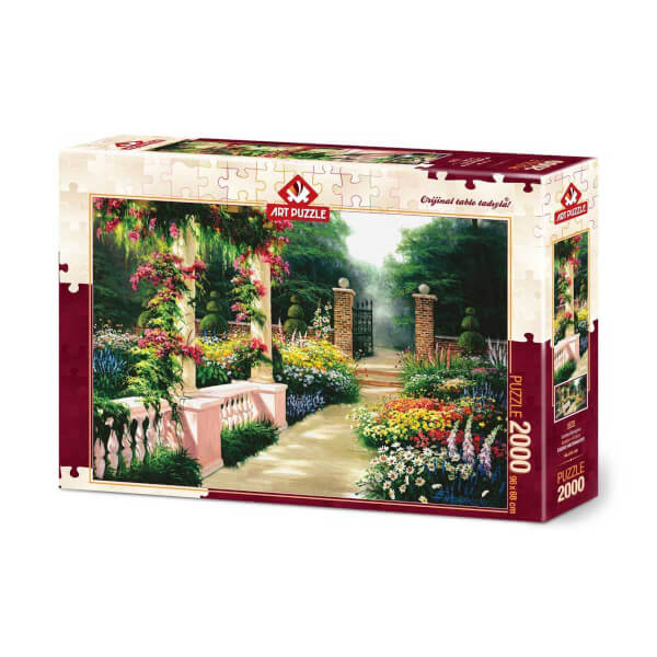 2000 Parça Puzzle : Cennet Bahçesi