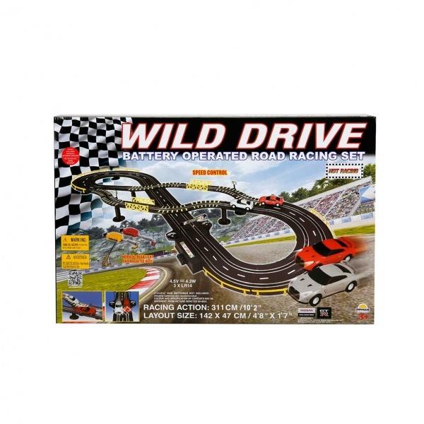 Wild Drive Işıklı Yarış Seti