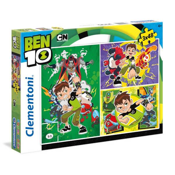 3x48 Parça Puzzle : Ben10