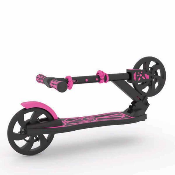 Dipsy 2 Tekerlekli Katlanabilir Pembe Scooter
