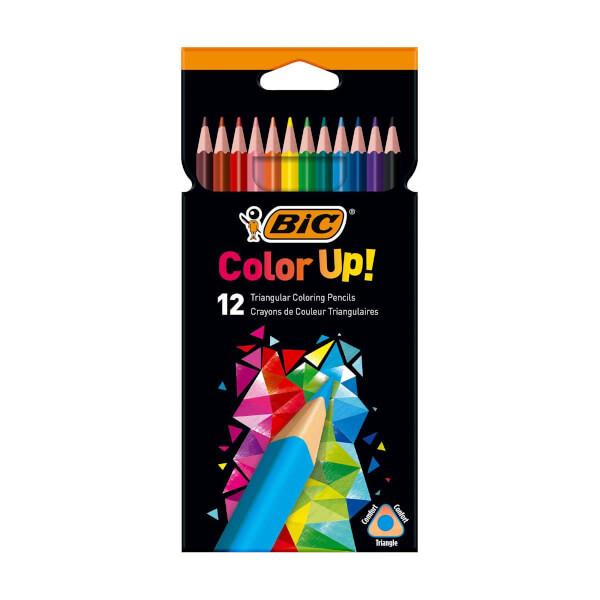 Bic Color Up 12'li Kuru Boya Kalemi