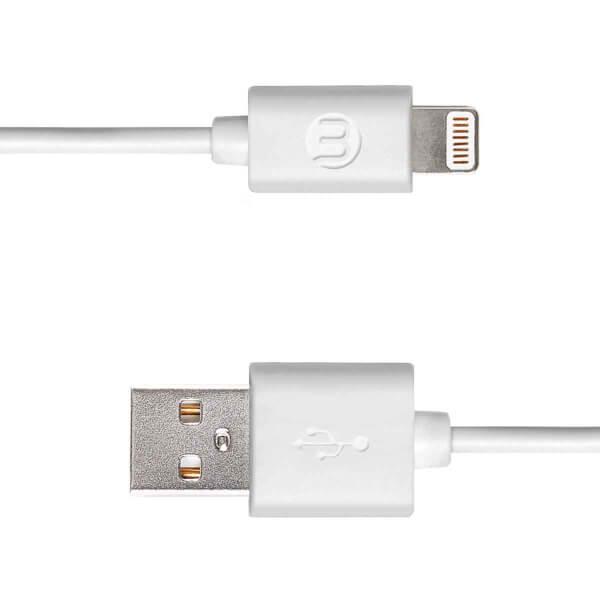 Mojue Iphone Şarj Kablosu Beyaz