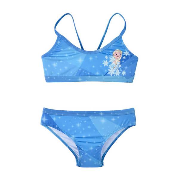 Slipstop Kız Çocuk Frozen Sparkle Bikini