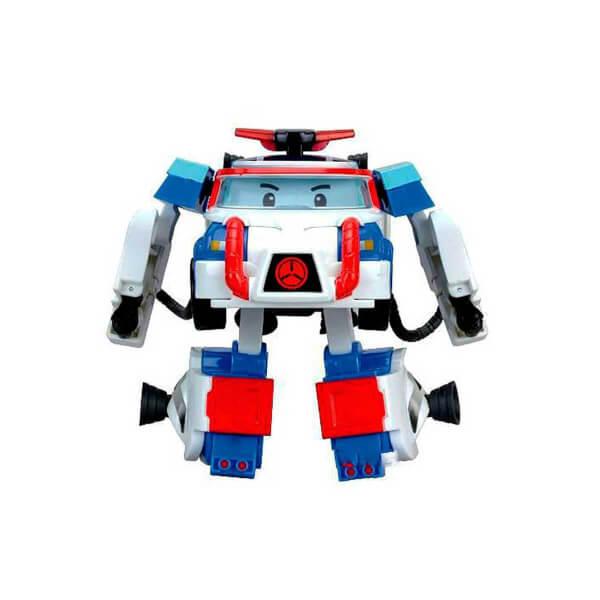 Robocar Poli Aksesuarlı Transformers Robot Figür