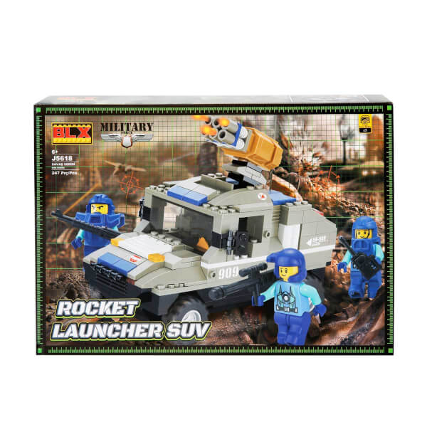 Yapım Seti : Askeri Tank J5618