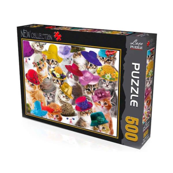 500 Parça Puzzle : Kediler