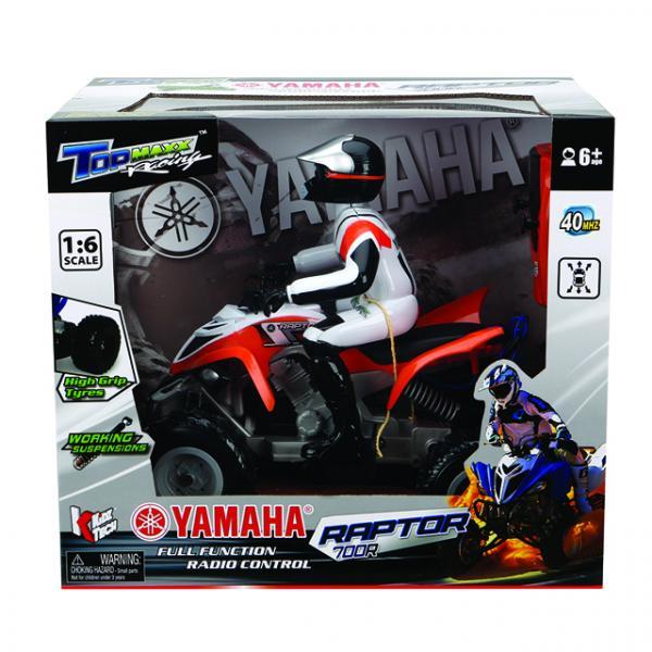 1:16 Uzaktan Kumandalı Yamaha Raptor ATV