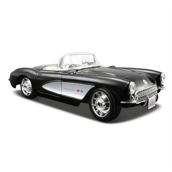1:24 Maisto Chevrolet Corvette 1957 Model Araba