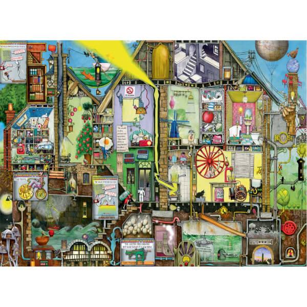 500 Parça Puzzle : Yarının Dünyası