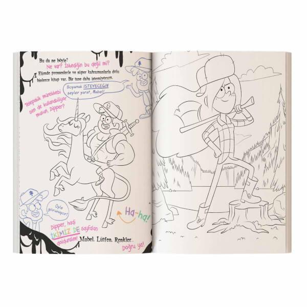Disney Esrarengiz Kasaba Bu Kitabı Boyamayın Çünkü Lanetli!
