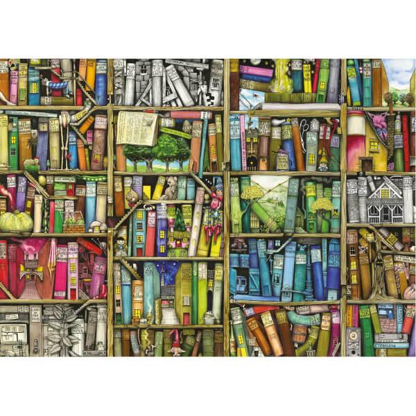 1000 Parça Puzzle : Kitaplık