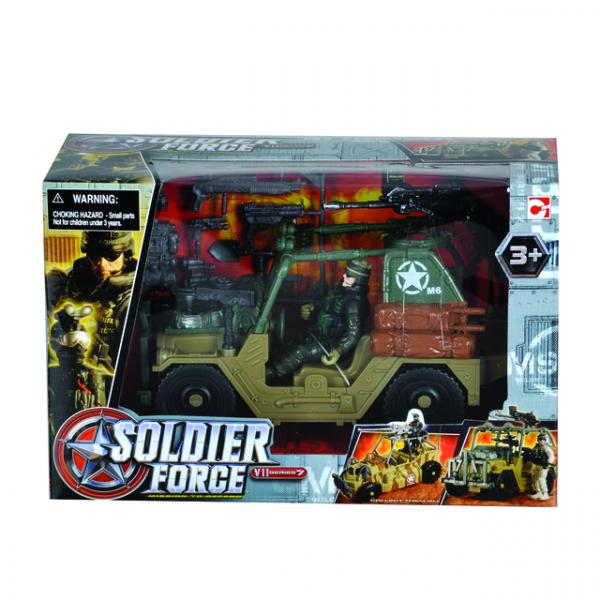 Soldier VII Offroad Vehicle Oyun Seti