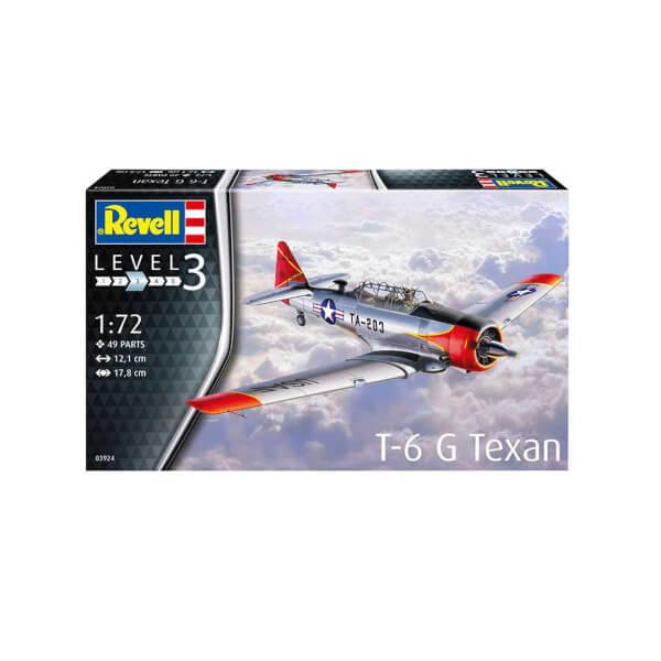 Revell 1:72 T-6 G Texan Uçak 3924