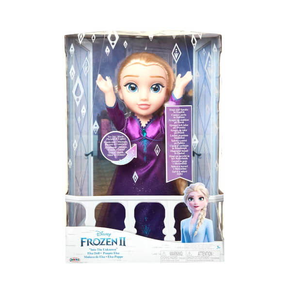 Frozen 2 Müzikli ve Işıklı Elsa 35 cm.