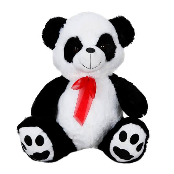 Kurdeleli Peluş Panda 50 cm.