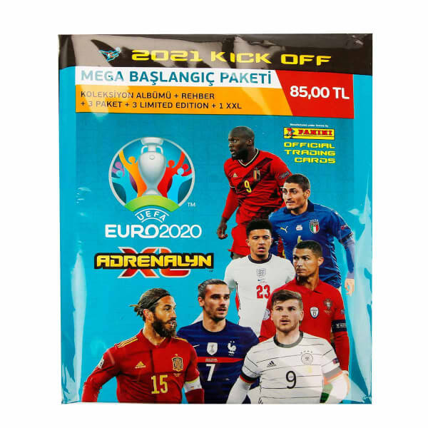UEFA Euro 2020 Kick Off Mega Başlangıç Paketi 2021