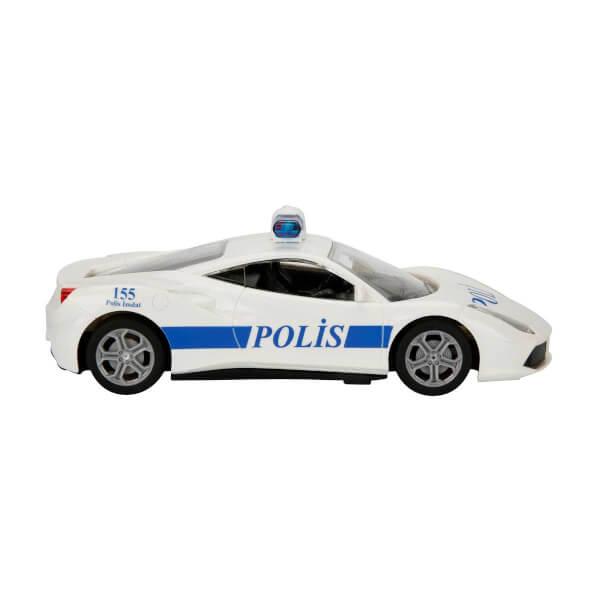 1:20 Uzaktan Kumandalı Suncon Usb Şarjlı Polis Arabası 20 cm.