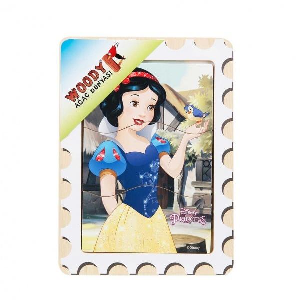 Disney Princess Ahşap Puzzle 3 Parça