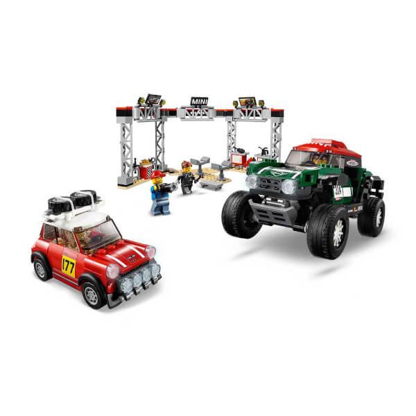 LEGO Speed Champions 1967 Mini Cooper S Ralli ve 2018 MINI John Cooper Works Buggy 75894