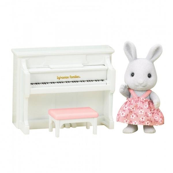 Sylvanian Families Tavşan ve Piyanosu