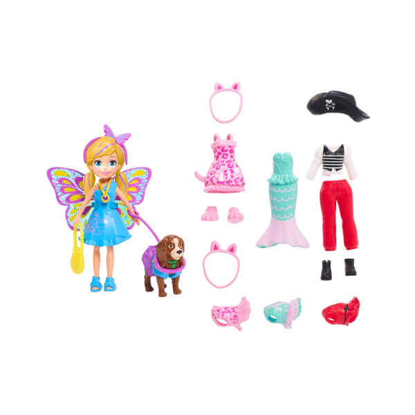 Polly Rocket ve Hayvan Dostu Kostüm Giyiyor Oyun Seti GDM15