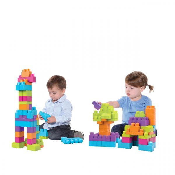 Mega Bloks 60'lı Blok Torbaları Yeşil