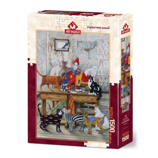 1500 Parça Puzzle : Renkli Dünyam