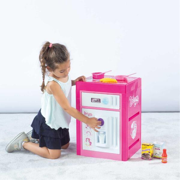 Unicorn Sesli Buzdolabı Seti