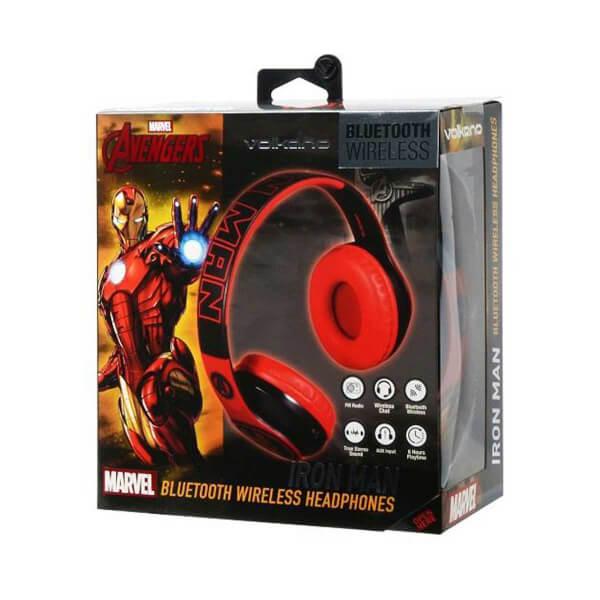 Marvel Avengers Iron Man Bluetooth Kulaklık Radyolu