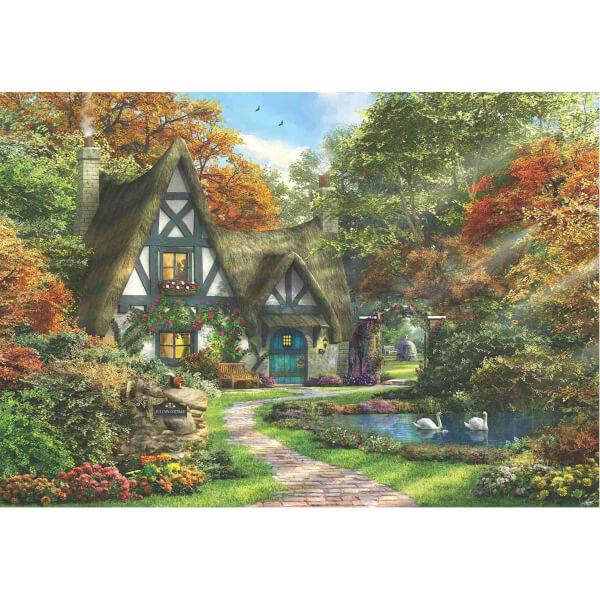 2000 Parça Puzzle : Güz Evi